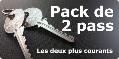 pack de deux pass T10+F10