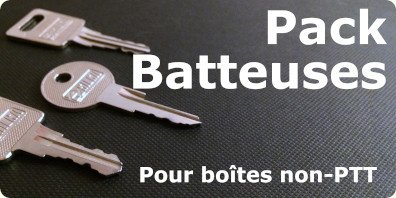 pack batteuses