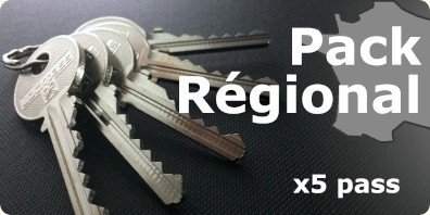 pack régional PTT