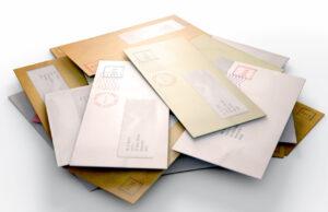 tas de lettres