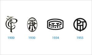 évolution logo ptt